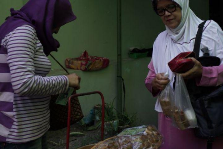 Kicak Mbah Wono, makanan yang cuma ada saat ramadan