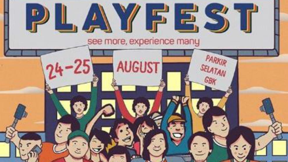 Deretan tokoh inspiratif yang siap ramaikan Playfest 2019!