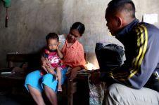 Anggota Satpol PP berhati mulia, bantu anak yatim dan lansia