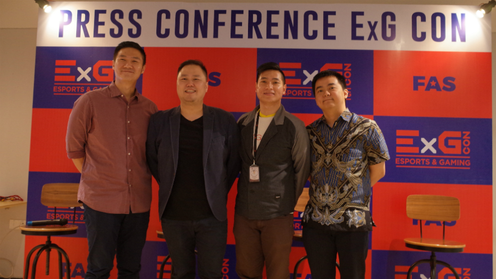 ExGCon 2019 gaming convention perdana di Indonesia segera digelar
