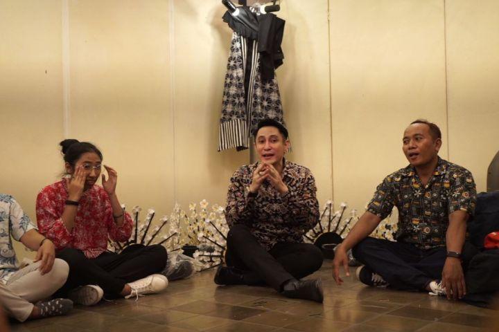 Wawancara eksklusif Paundrakarna, putra raja dan cucu Bung Karno