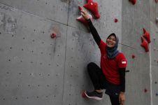 Aries Susanti, atlet panjat tebing putri tercepat dunia