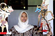 Rizki Rahma Nurwahyuni, dalang cantik dari Jogja